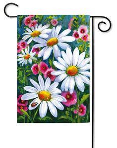 Big Daisies Decorative Garden Flag