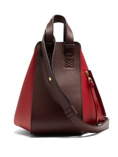 72958b2747d Hammock small contrast-panel leather tote   Loewe   MATCHESFASHION.COM US  Designer Totes