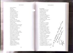 Pasillos nocturnos  Hola amigos… Ya estamos en un nuevo fin de semana calentito para ir quien pueda ir a la playa, piscina y etcétera… ¡Disfrutarlo que ya quedan pocos! He pensado en compartir algo especial con vosotros y se me ha ocurrido abrir el poemario Pasillos nocturnos al azar y digitalizar la poesía que ha salido.  Como veréis es el de la página 97. He añadido los versos finales a mano y dedicado. Al poema de la página anterior le faltan varios versos del inicio. Es amplio...