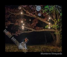 Night Photography at Monterre Vineyards in the lehigh valley