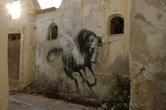 STREET ART UTOPIA » We declare the world as our canvas » Hunt Her – Street Art by Faith47 in Tunisia
