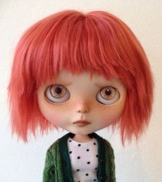 Meet 'Nora'...I WaNt tO gIvE hEr A hOmE- Neo-Factory-Blythe-Doll-Custom-Ooak-Nora