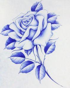 Badass Drawings, Chicano Drawings, Creepy Drawings, Bff Drawings, Tattoo Design Drawings, Chicano Art, Love Rose Flower, Rose Drawing Tattoo, Blackwork