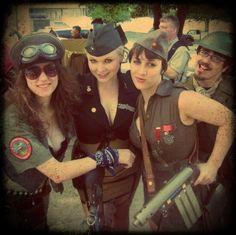 Dragonfly diesel punk crew!