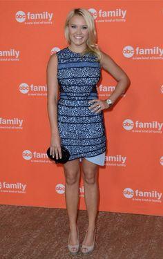 Emily Osment in HART TO HEART dress! #THREEFLOOR #hs14