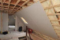 Dämmung der Dachschrägen