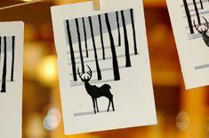 Ink | Inspiration & Technique | Winter Lino Print - Matt Richards Illustration