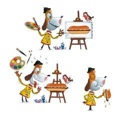 Children Illustration by Leo Timmers