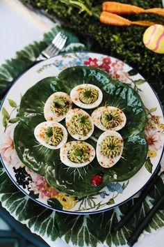 Avocado Deviled Easter Eggs | KBStyled | Nashville Fashion Blog