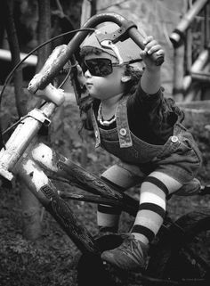 Baby I was born to ride!