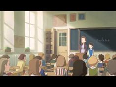 """Poulette's Chair"" (Poulette no Isu) is a short animation movie directed by Hiroyasu Ishida (who also created the short ""Rain Town""). Music: Masashi Hamauzu"
