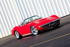 Gorgeous '72 Corvette Resto-Mod Roadster