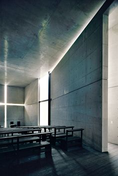 Visions of an Industrial Age // Church of Light, Ibaraki, Japan. Visions of an Industrial Age // Church of Light, Ibaraki, Japan. Architecture Exam, Religious Architecture, Japanese Architecture, Interior Architecture, Interior Design, Tadao Ando, Ibaraki, Church Of Light, Der Pianist