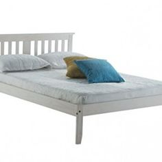 Birlea-Salvador-4ft6-Double-Wooden-Bed-White-0