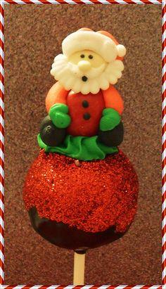 cake pop ideas   Christmas Santa Claus Cake Pop   cake pops and cake ball ideas