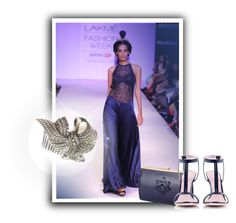 """""""Haute Chic @labelsoup @NINARAICOUTURE @ktzovolou @CataleyaLondon"""" by atmayfair ❤ liked on Polyvore featuring ANISE"""