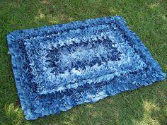 Una alfombra hecha con un vaquero antiguo - Gas Jeans online store