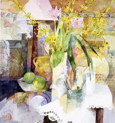 water color Shirley Trevena