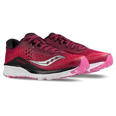 Chaussure de course femme Saucony Kinvara 8 berry pink women s running  shoes Soccer Sport Fitness 149.99 eb07ed2646
