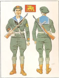 Military Art, Military History, Navy Uniforms, Military Uniforms, Italian Army, Paratrooper, Armada, Army & Navy, Armed Forces
