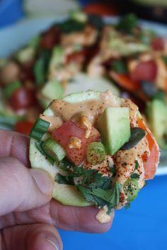 Raw Vegan nachos