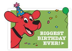 clifford the big red dog cake - Google 搜尋