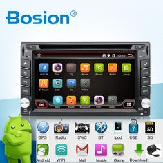 Universale 2 din Android 4.4 Car DVD Player GPS + Wifi + Bluetooth + Radio + Quad Core CPU + DDR3 + Capacitive Touch Screen + 3G + Car PC + Audio