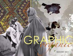 Graphic Organic by Sonja Nesse, via Behance