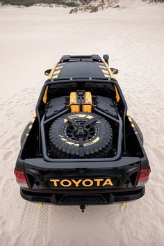 Toyota Australia and Tonka have teamed up to create a Hilux-based concept car. Toyota Hilux, Toyota 4x4, Toyota Trucks, Toyota Tundra, 4x4 Trucks, Toyota Tacoma, Custom Trucks, Ford Trucks, Truck Flatbeds