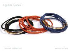 Leather Bracelet by Myfunny on Etsy, $13.75