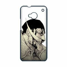 MyTop Arts Japanese Anime Cartoon One Piece Whitebeard Pirates Hard Case Cover for HTC ONE M7