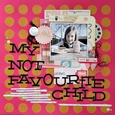 My Not Favourite Child by Sharmaine Kruijver using the Cocoa Daisy Story Time collection www.cocoadaisy.com