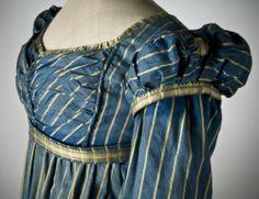 31-10-11  Dress ca. 1815    From the Nordiska Museet