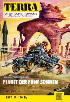 Terra SF 20 Planet der f�nf Sonnen   Frank Williams  Titelbild 1. Auflage:  Johnny Bruck.#