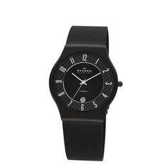 Skagen Denmark Mens Titanium Watch