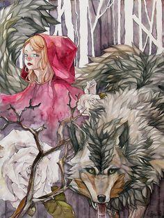 Red by kai-shii.deviantart.com on @deviantART