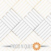 Machine Quilting Patterns - think this is stitched one row across of diagonal squares at a time, then come back across next row in opposite line up. Machine Quilting Patterns, Longarm Quilting, Free Motion Quilting, Quilting Tips, Hand Quilting, Quilt Patterns, Zentangle Patterns, Zentangles, Straight Line Quilting