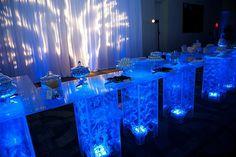 Cocktail lounge arrangement
