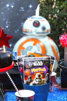 Star Wars: The Force Awakens by Laura Aguirre | Shindigz | Shindigz Party Ideas Blog