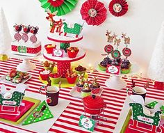 Kids Christmas Crafts - Rudolph Fondue Party - Click Pic for 18 Christmas Party Ideas for School