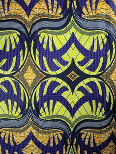 african print fabric | Yards Cotton African Fabric Super Wax Print sw36108