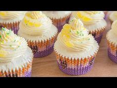 Cupcakes de Limoncello (Receta) | Alma Obregón | Especial Cupcakes - YouTube