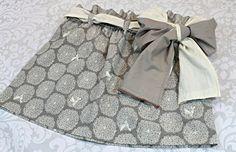 Mini Paperbag Skirt Tutorial