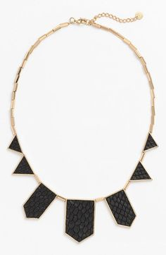House of Harlow 1960 Leather Station Necklace (Nordstrom Exclusive) available at #Nordstrom