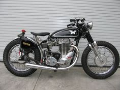 Matchless: 1957 G80 RR