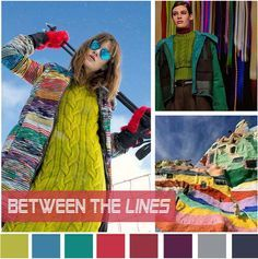 #DesignOptions FW18/19 color report on WeConnectFashion, Women's Market Mood: Between the Lines.