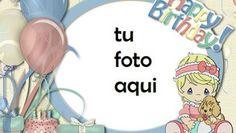 Tarjeta De Feliz Cumpleaños Niña Marco Para Foto Birthday Msgs, Birthday Card With Name, Happy Birthday Frame, Happy Birthday Pictures, Birthday Frames, Happy Birthday Cakes, Birthday Cards, Projects To Try, Happy Birthday Greeting Cards