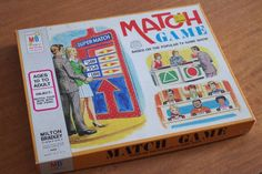 Vintage 1974 The Match Game by Milton Bradley Based on TV Game Show by retrowarehouse on Etsy