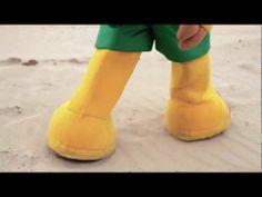 Conozca Fuleco: En la playa, canción en portugués