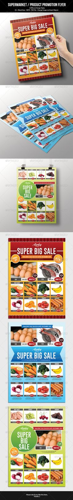 Product Flyer Template Psd  Buy And Download HttpGraphicriver
